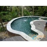 reforma piscina de fibra José Bonifácio