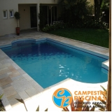 revestimento de piscina moderno valor Guararema