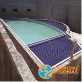 revestimento para piscina área externa Imirim