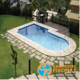 revestimento para piscina branco orçar Santana de Parnaíba
