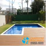 revestimento para piscina branco Parque Peruche