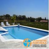 revestimento para piscina natural orçar Campo Grande