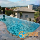 revestimento para piscina verde