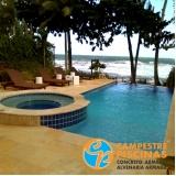 serviço de acabamento externo para piscinas Vila Anastácio