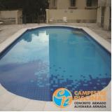 serviço de iluminação para piscina externa Quadra