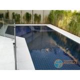 venda de piscina de alvenaria armada com azulejo Amparo