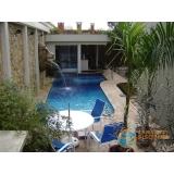 venda de piscina de alvenaria armada com deck Iguape