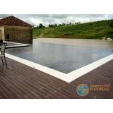 venda de piscina de alvenaria armada para clubes Barra Funda