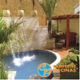 venda de piscina grande orçamento Interlagos