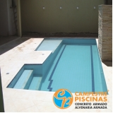 venda de piscina para chácara orçamento Balneário Mar Paulista