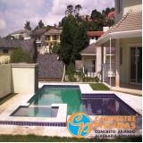 venda de piscina para clube orçamento Morumbi
