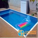venda de piscina para sitio orçamento Francisco Morato