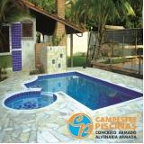 venda de piscina redonda orçamento Araras