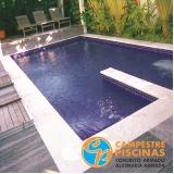venda de piscinas para área pequena Ponte Rasa