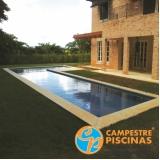 venda de piscinas para chácara Casa Verde